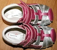 Стикеры для обуви с однотонной картинкой